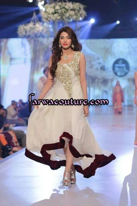 Party Wear Dresses Collection For October 2014 Pakistani Latest Fashion Designer Lawn