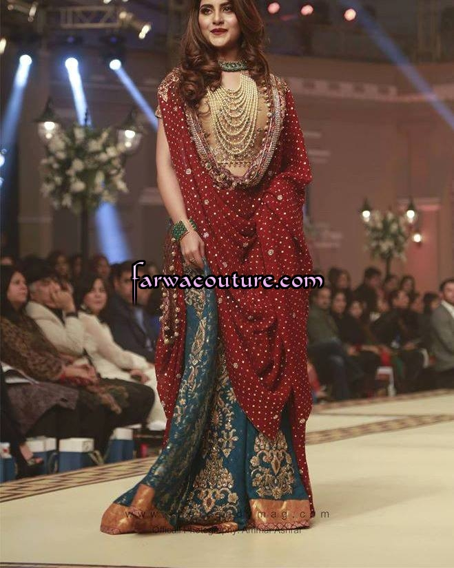 Style360 Bridal Dresses For February 2015 Pakistani Latest Fashion Designer Lawn Party