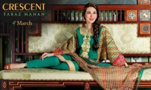 Pakistani Crescent Lawn Collection 2013 Faraz Manan