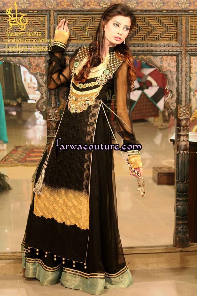 44e7eac24f Black Beauty Dresses Collection October 2016   Pakistani Latest ...
