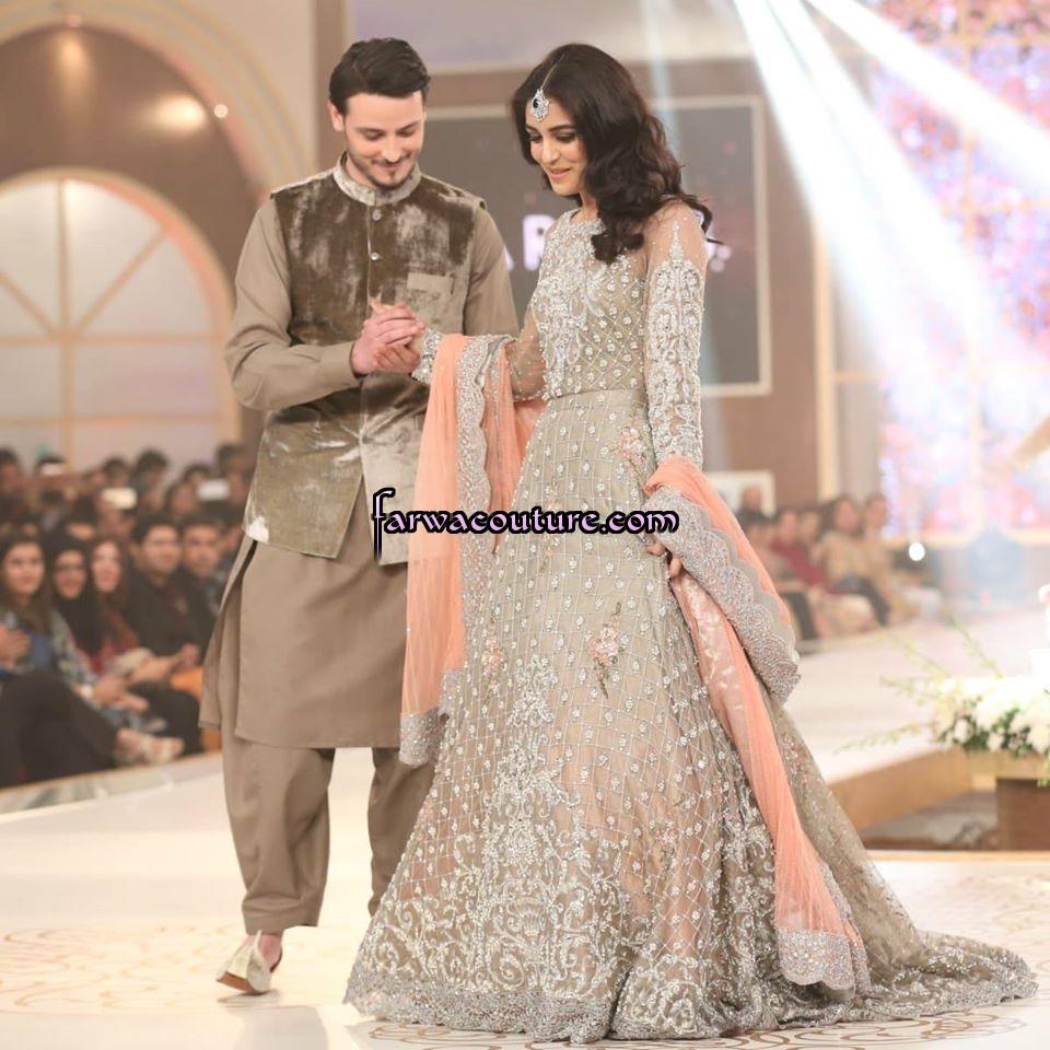 4bb453da82 Pink Pakistani Bridal Dresses 2015 | Saddha
